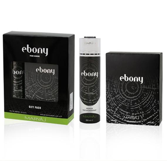 Maryaj Ebony Gift Set For Men, EDP 100ml and  Deo Spray 200ml