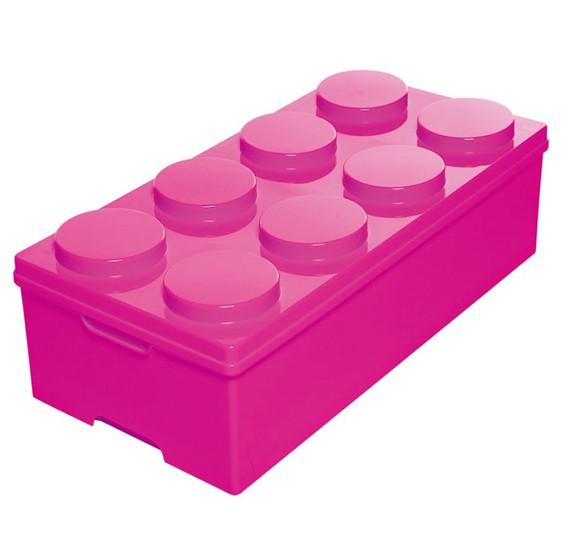 Royalford 8 Circles Block Storage box, RF9288_PINK