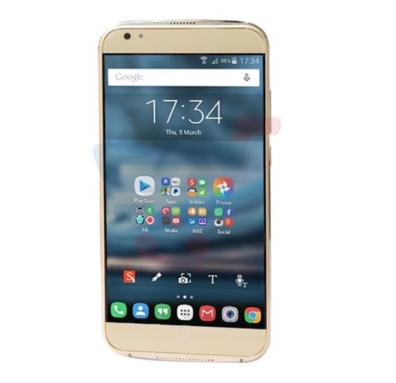 Mione R1 4G Smartphone, Andoid OS, 5 0 Inch HD Display, 2GB RAM, 16GB  Storage, Dual SIM, Dual Camera, 1 3GHz Quad Core Processor- Gold