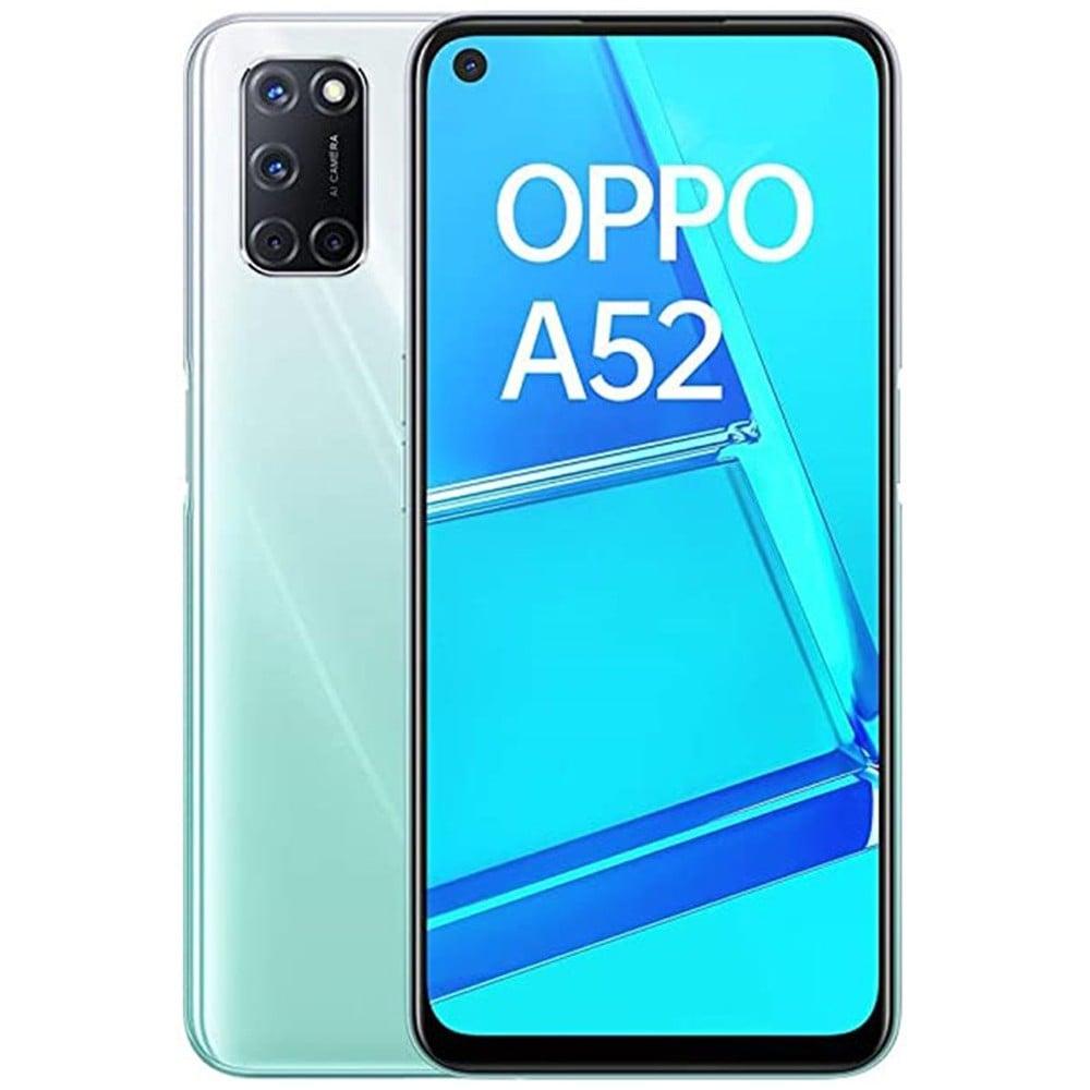 Oppo A52 Dual SIM 4GB RAM 128GB 4G LTE-Stream White