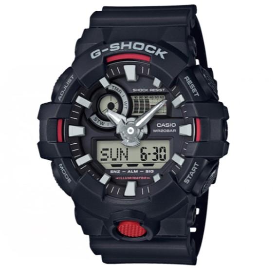 Casio G-shock Digital Analog Watch, GA-700-1ADR
