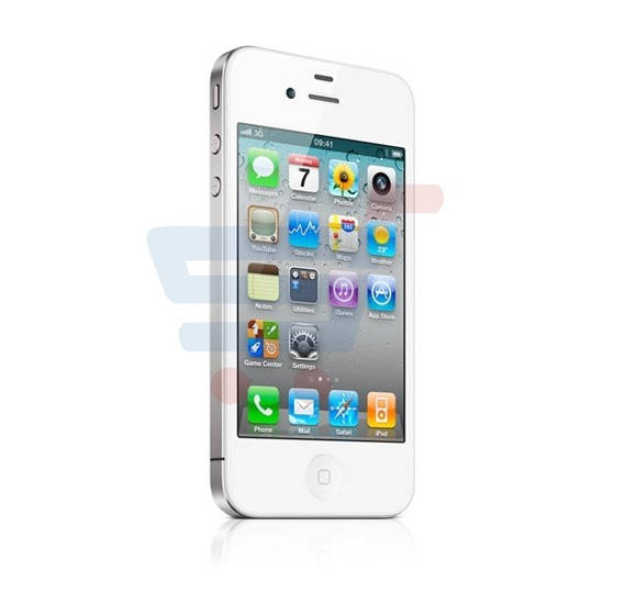 Apple iPhone 4S Smartphone, 3G, 16GB, 3.5inch, iOS 5, Dual Camera, Wifi - White