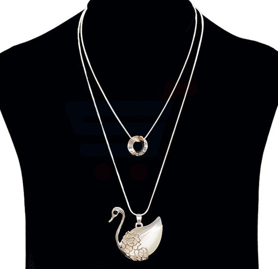 Fashion Jewelry Duck design Necklace NO.FJ-404