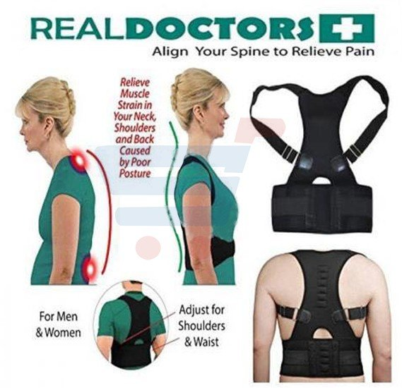 Real Doctor Plus Align Your Spine to Relieve Pain For Men and Women - S