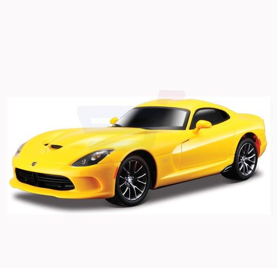 Maisto Tech R/C 1:24 Dodge Viper 2013 without Batteries Yellow - 81068