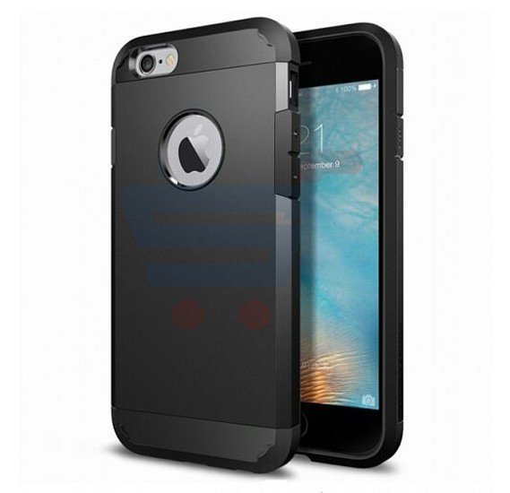 Slim Armor Case For Apple Iphone 6 And 6s Black