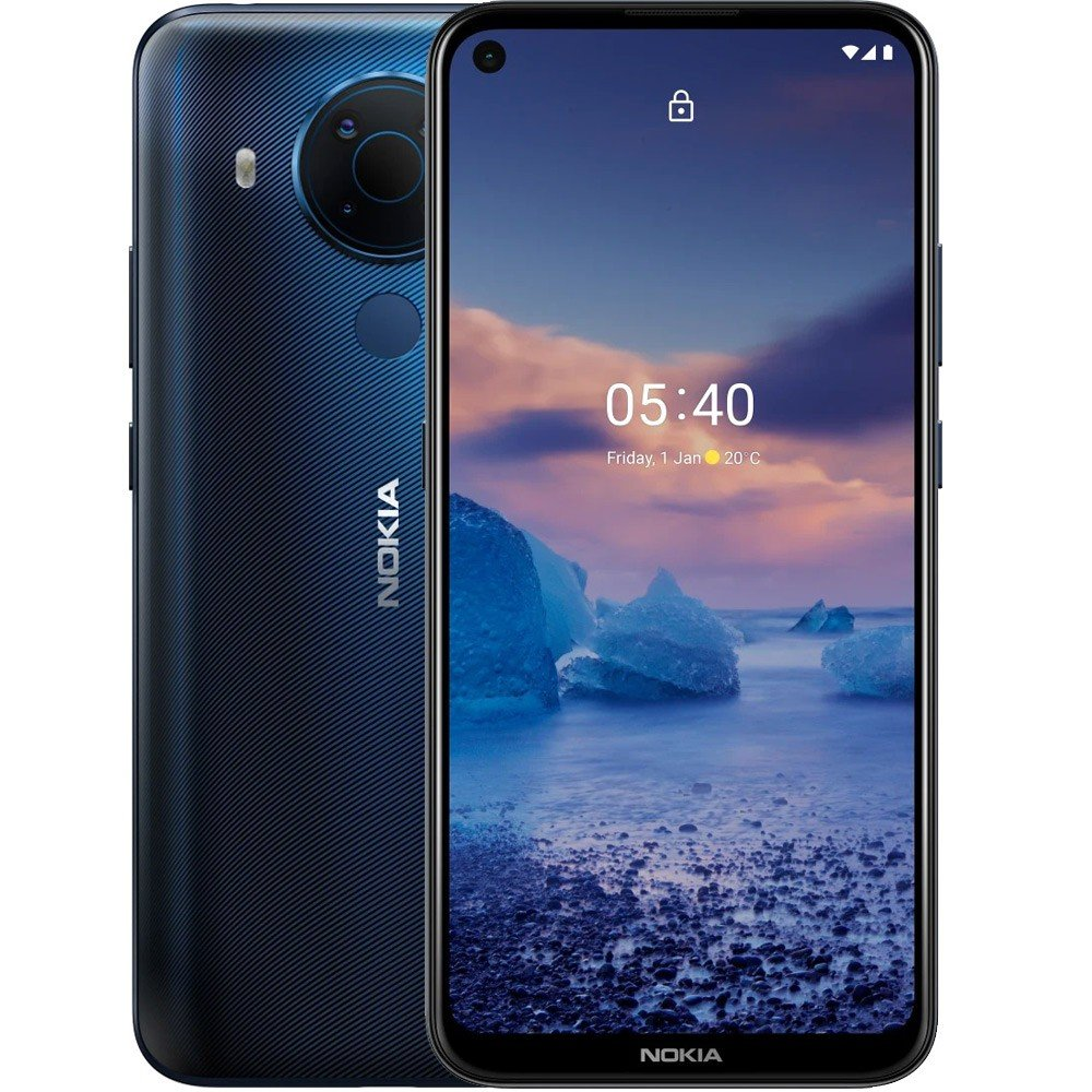 Nokia 5.4 Dual SIM Polar Night 4GB RAM 128GB Storage 4G LTE