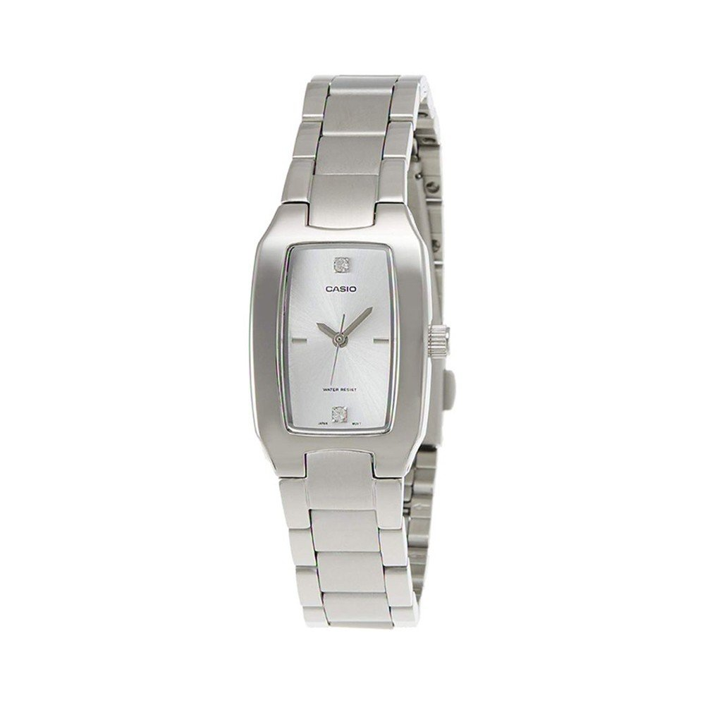 Casio Stainless Steel Ladies Watch, LTP-1165A-7C2DF