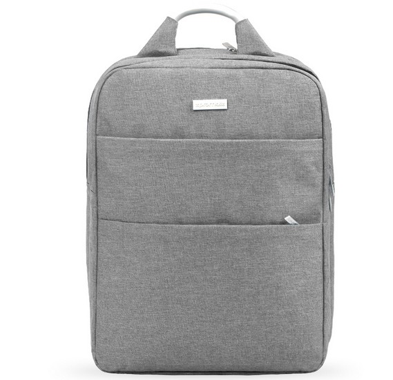 Promate Business Laptop Backpack,Travel Anti-Theft Slim 15.6 Inches Computer Backpack, -Nova-BP Grey