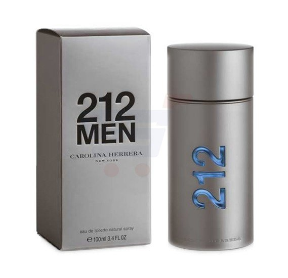 Carolina Herrera 212 Men NYC EDT 100ml For Men