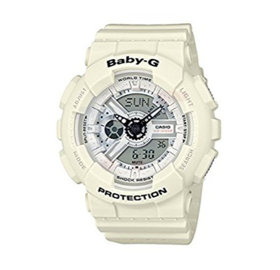 Casio Baby-G BA-110PP-7ADR Punching Pattern Series Ladies Watch