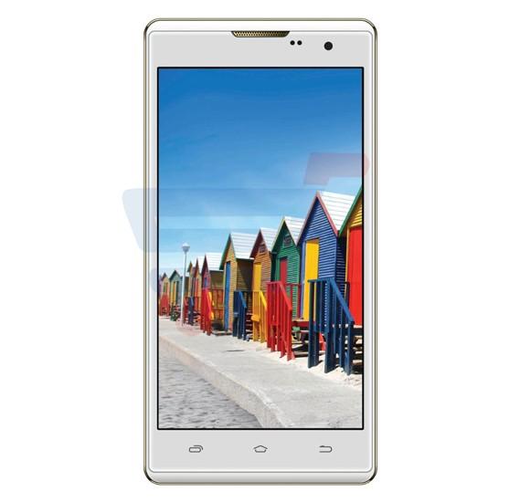 Intex Cloud String HD 4G Smartphone,Fingerprint,Android OS,5 Inch HD Display,2GB RAM,16GB Storage,Dual Camera,1.3GHz Quadcore Processor-White