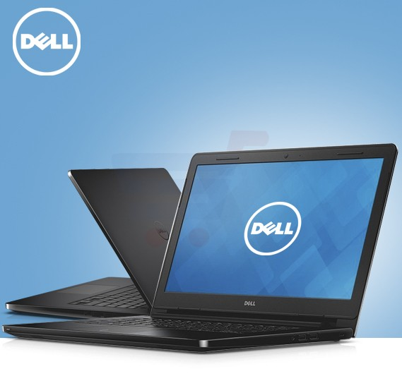 Dell 3552 Laptop,Celeron,15.6 Inch Display,4GB RAM,500GB Storage,DOS-Black