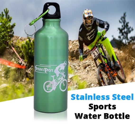 Stainless Steel Sports Water Bottle 500ml 507G