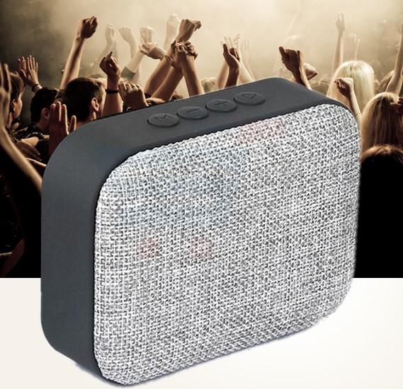 Multi-Color Wireless Bluetooth Outdoor Portable Mini Audio Sub Woofer Speaker Support TF Card/FM/U Disk, T3