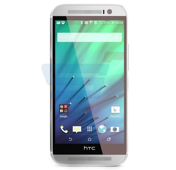 HTC One M8 Smartphone,  Android OS, 5.0 Inch Full HD Display, 2GB RAM, 32GB Storage, Bluetooth, WiFi, Quad-core, Dual Camera - Silver