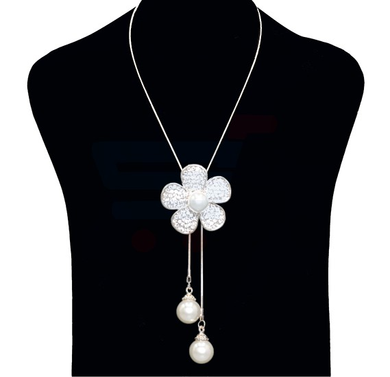 Yimeinuo Fashion Jewelry Necklace Flower Ball Design NO.FJ-401