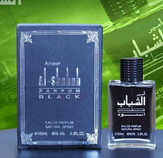 La Parfum Galleria Ameer Al Shabab Black 100ML