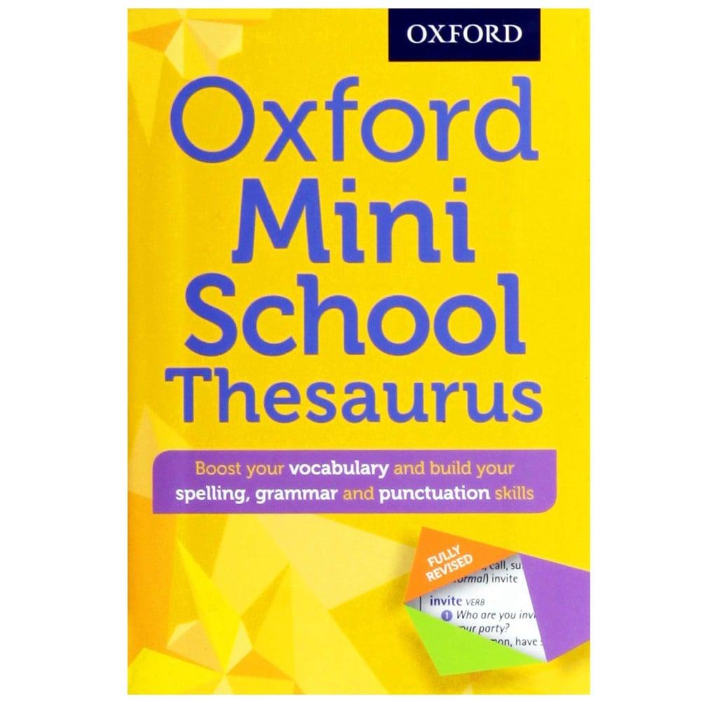 Oxford Mini School Thesaurus, Oxford Dictionary
