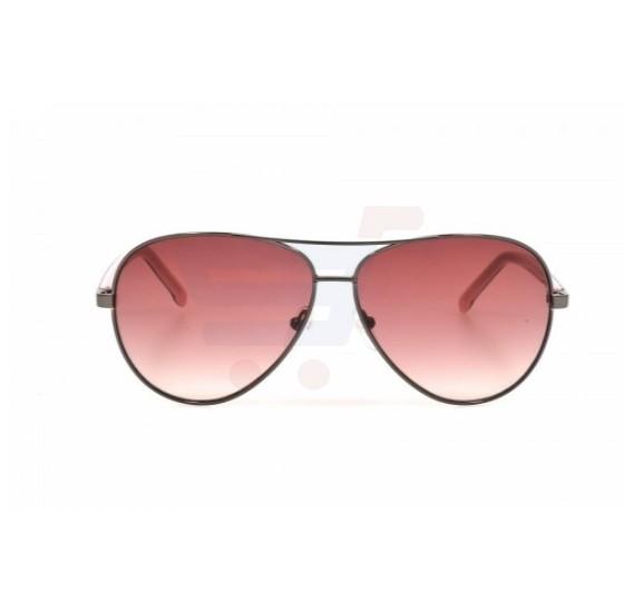 Lacoste Aviator Gunmetal Frame & Gradient Mirrored Sunglasses For Unisex - L155S-033