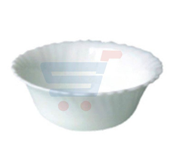 Royalford Opalware Spin 4.5 Inch Bowl White - RF4530