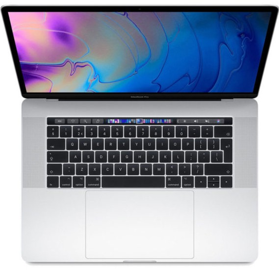 MacBook Pro 15 Touch Bar & Touch ID 2018 – Core i7 2.6GHz 16GB 512GB 4GB 15.4inch Silver English, MR972B/A