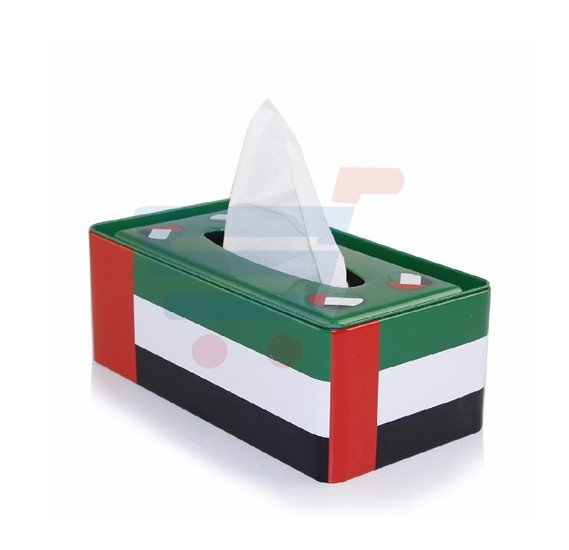 UAE Metal Tissue Box, TN2904
