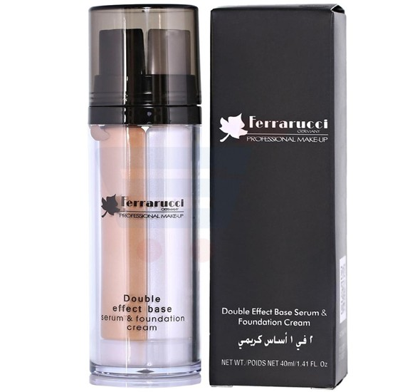 Ferrarucci Double Effect Base Serum and Foundation Cream 40ml, FDF02