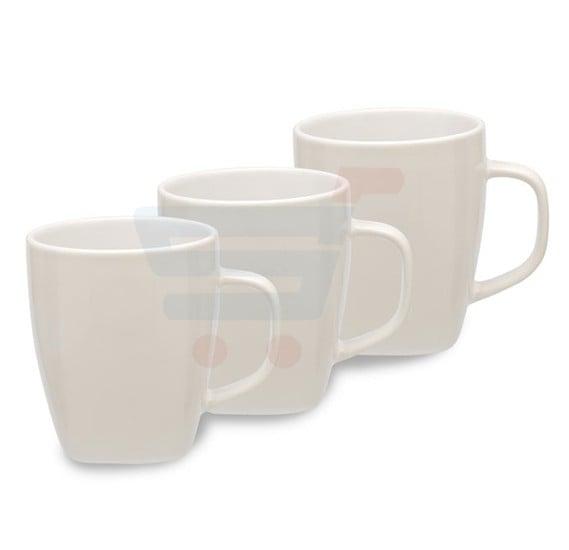 RoyalFord 3 Pcs Stoneware Tea Cup Set - RF8463