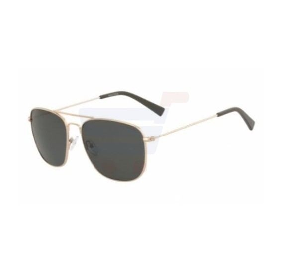 Nautica Oval Gold Frame & Gradient Mirrored Sunglasses For Unisex - N4618SP-717
