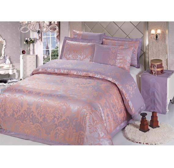 Senoures 100% Cotton Jacquard Quilt Cover 6Pcs Set King - SEJ-048