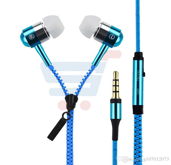 Universal zipper headphone