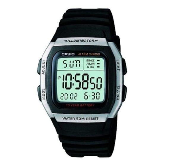 Casio W-96H-1AVDF  Digital Grey Dial  Watch For Men