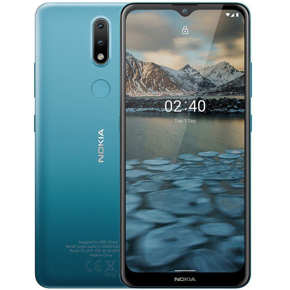 Nokia 2.4 Dual SIM, 2GB RAM 32GB Storage, 4G LTE, Blue