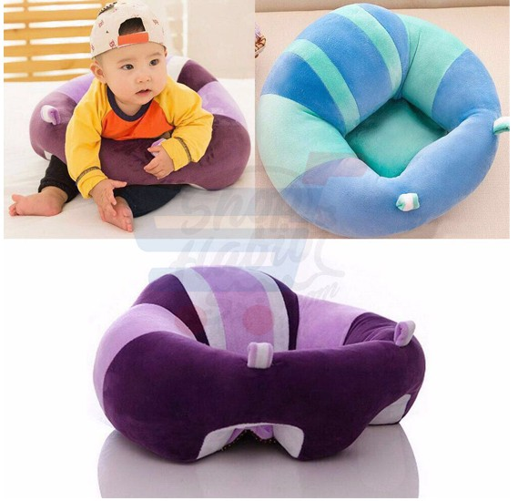 Buy Baby Support Seat Plush Soft Baby Sofa Infant Learning To Sit Chair  Keep Sitting Posture Comfortable For 0 6 Months Baby Online Dubai, ...