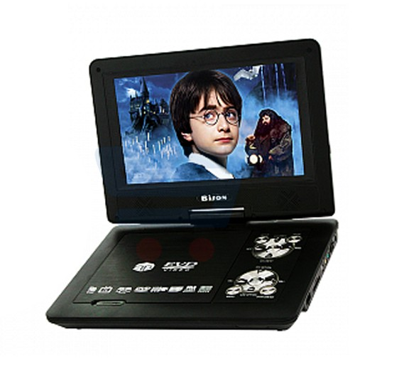 Bison 10 8 Inch Screen Portable DVD With USB SD Card Reader Game