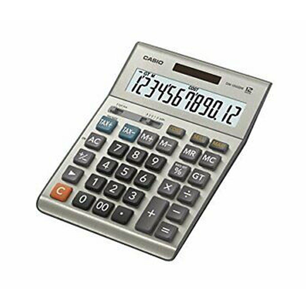Casio Dm-1200bm/Fm-W, Dh Desk Top Calc