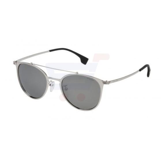 57284b32d3 Buy Police Oval Silver Frame   Mirrored Sunglasses For Unisex -  SPL156V-579X Online Dubai