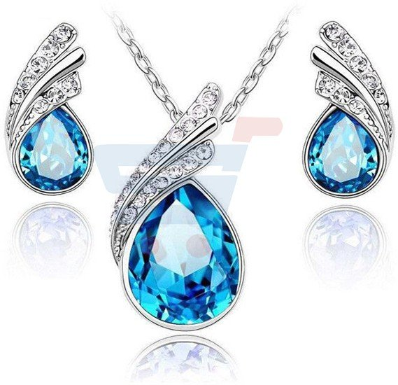Swarovski Elements Unique Two Piece Jewelry Set - GF-020