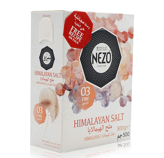 Nezo Himalaya Salt 500Gm