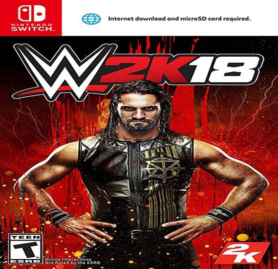 2K Games WWE 2K18 For Nintendo Switch