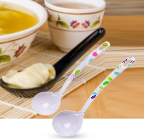 Royalford Melamine Ware Soup Spoon - RF7393