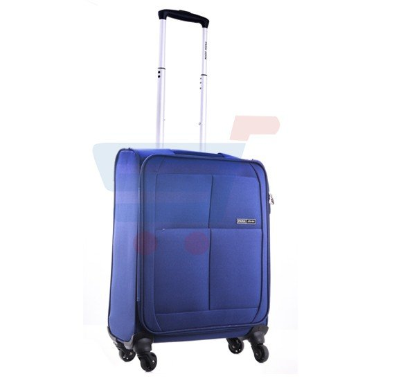 Para John 20 Inch Trolley Luggage, Navy Blue- PJTR2010