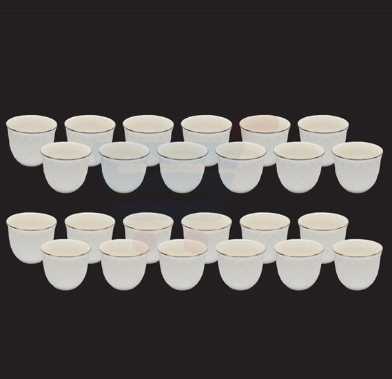 RoyalFord 12pcs Bone China Cawa Cup, RF8280