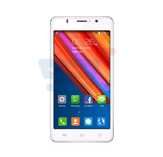 Orro X5 Smartphone,3G,Android 5.1,5.0 Inch Display,1GB RAM,8GB Storage,Dual Camera,Wifi-White