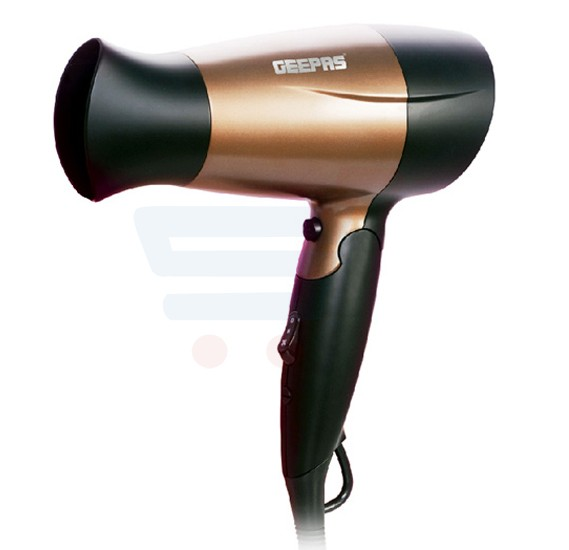 Geepas Mini Hair Dryer 2 Speed 3 Heat 1600W - GH8642