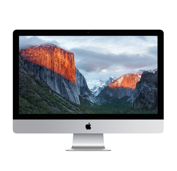Apple iMac MK142 i5, 1.6GHz, 8GB Memory, 1TB Storage, HD Graphics 6000