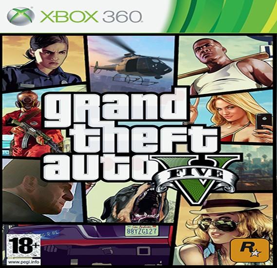 Rockstar Games Grand Theft Auto V For Xbox 360