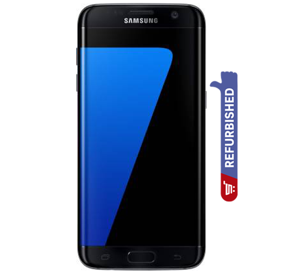 Samsung Galaxy S7 Edge 4G Smartphone,  5.5 Inch Display, Android OS, 4GB RAM, 32GB Storage, Dual Camera - Black