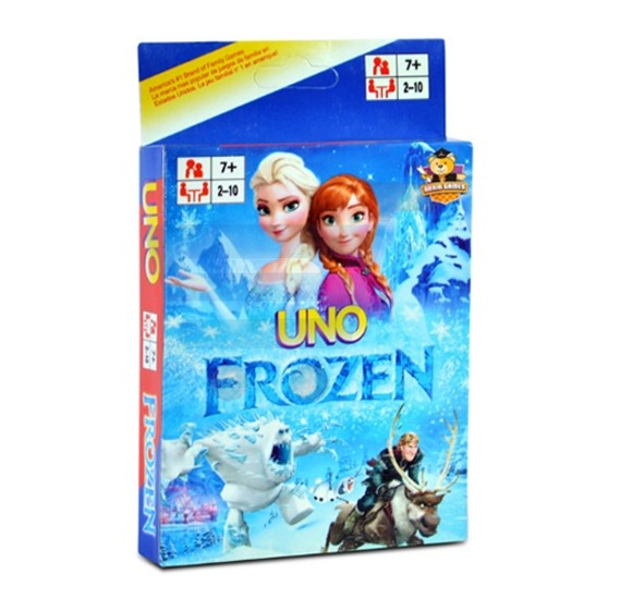 how to play uno frozen